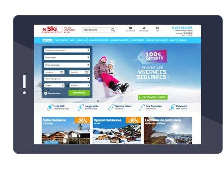 Portail le Ski du Nord au Sud
