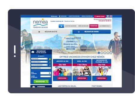 Le site Résidence Nemea
