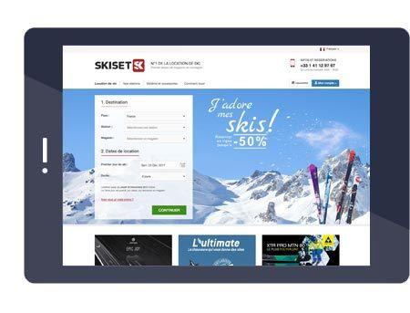 Bienvenue chez Skiset