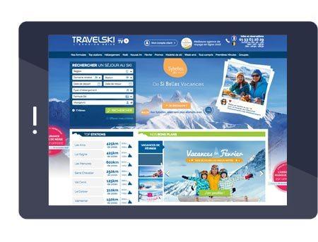 Le site Travelski